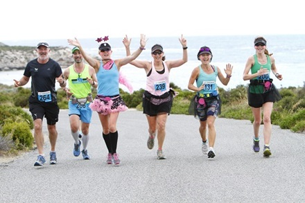 Brooks Marathon event on Rottnest Island