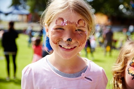 Rottnest Carnivale face painting