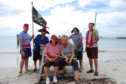 School Holiday Activity Program - pirate pete activity