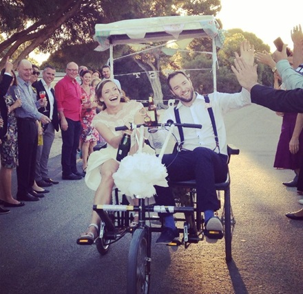 Wedding buggy