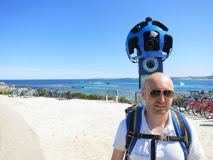 Google Street Trekker project