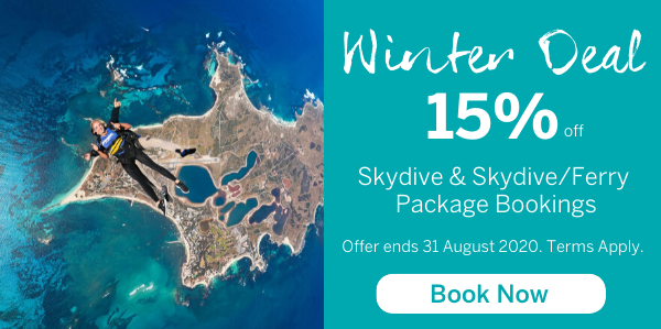 15% Off Skydive Packages