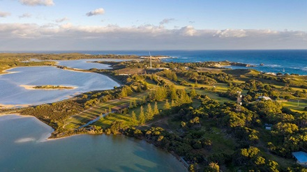 Golf Course Rottnest Island