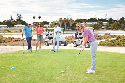 Rottnest Island golf game