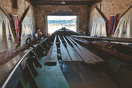 Pilot Boathouse Inside