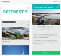 Rottnest Island mobile application